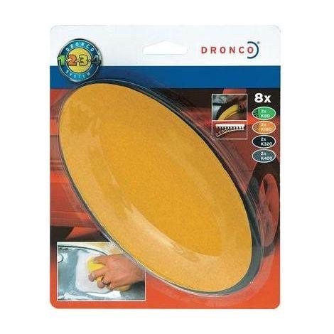 Paquet de recharge pour cale à poncer ovale pour voiture Dronco 6780250