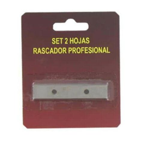 Paquete de 2 cuchillas de repuesto para raspador antifouling