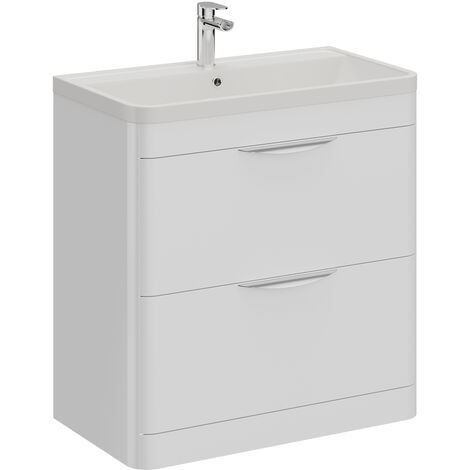 Parade 800mm Vanity Unit Including Polymarble Basin with 1 Tap Hole