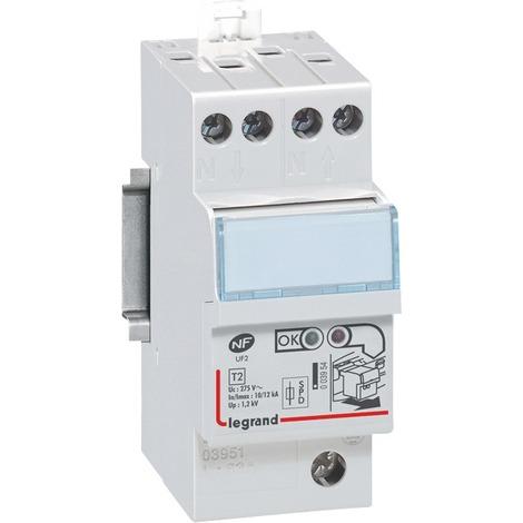 Parafoudre Legrand - Pour installation électrique - Bipolaire peignable, 2 modules