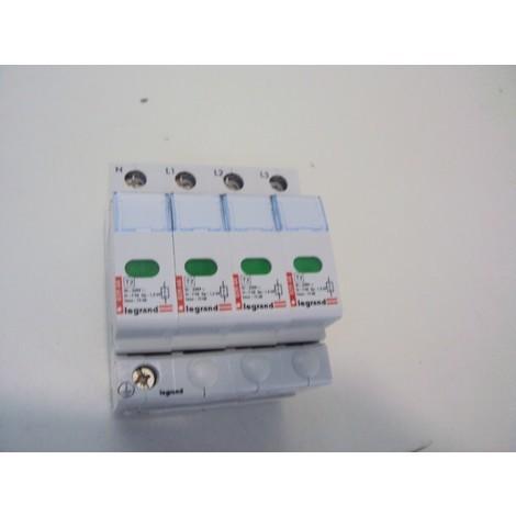 Parafoudre modulaire tetrapolaire 4P 15ka 230v LEGRAND 003943