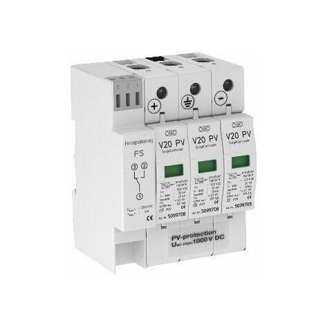 Parafoudre ORTO de Type 2 600VDC protection 40Ka 5094576