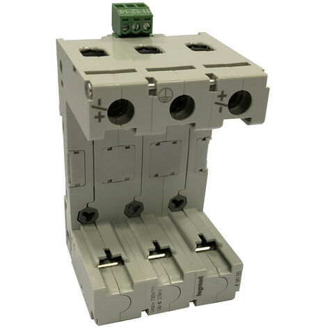 Parafoudre photovoltaïque type2 2 pôles protégés 3 modules Imax 40 kA 600V (414155)