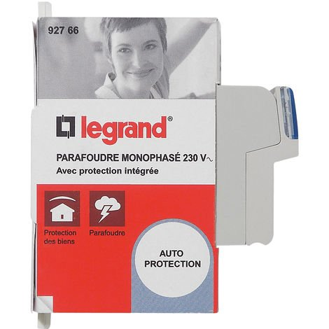 Parafoudre pour logement avec protection intégrée - 2 modules