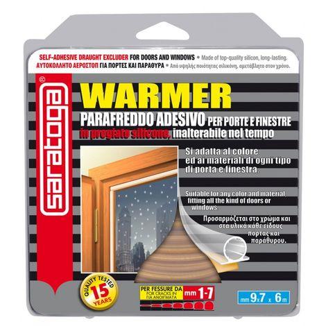 Parafreddo Adesivo Warmer Marrone mm9x7 x6mt Saratoga