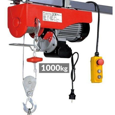 Paranco elevatore elettrico argano verricello montacarichi for Paranco elettrico 1000 kg