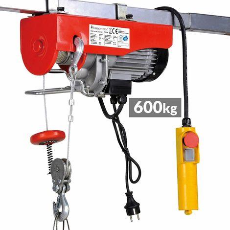 "main image of ""Paranco elevatore elettrico argano verricello montacarichi 600 kg 230v"""