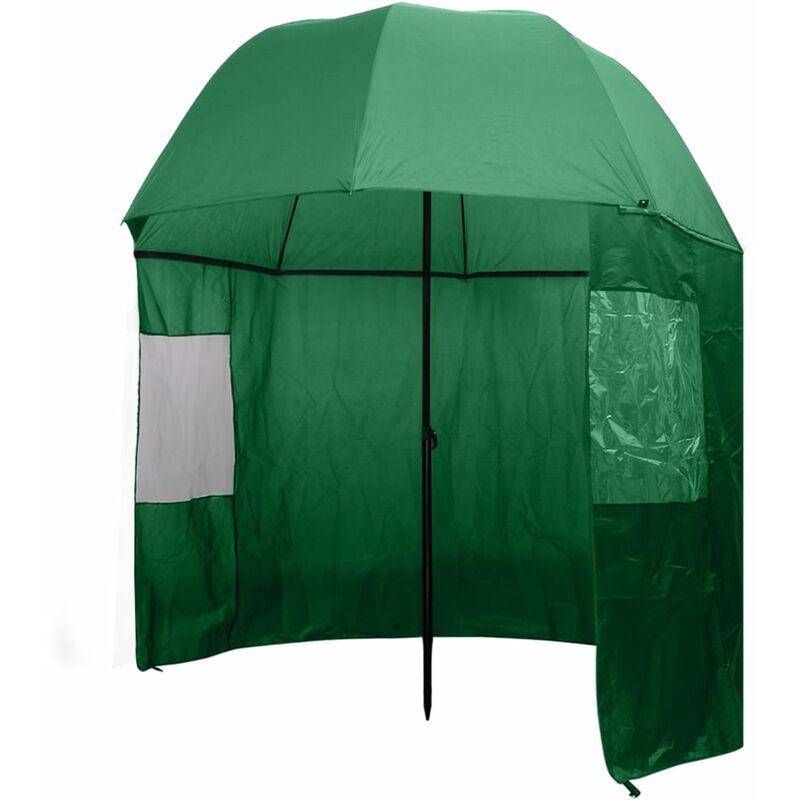Parapluie de pêche Vert 300x240 cm