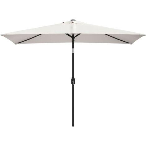 """main image of """"vidaXL Parasol Rectangulaire Pare-soleil de Plage Parasol de Jardin Parasol de Patio Pare-soleil de Terrasse Extérieur Multicolore"""""""