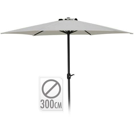 Parasol 300cm color gris edm