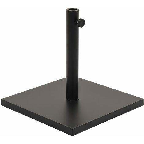 Parasol Base Black Square 11 kg