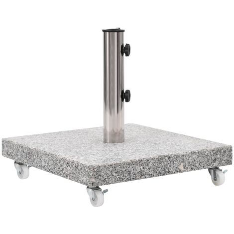 Parasol Base Granite 30 kg Square Grey