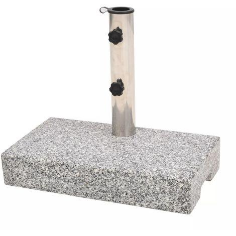 Parasol Base Granite Rectangular 25 kg