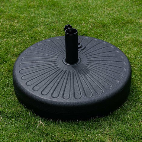 Parasol Base Stand / Water Filled 28KG For Square and Round Parasol