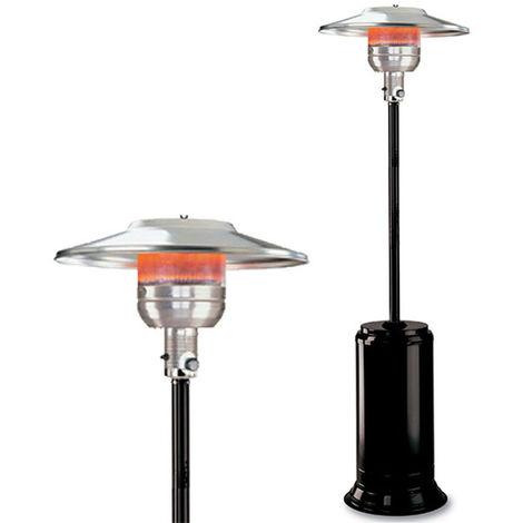 parasol chauffant à gaz 13kw noir - 6541090nef - kemper