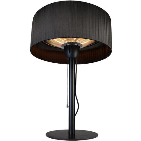 Parasol chauffant de table éléctrique Sirmione Noir - Favex