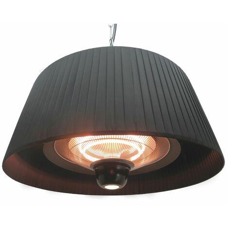 parasol chauffant électrique 1800w noir - 852.2043 - favex