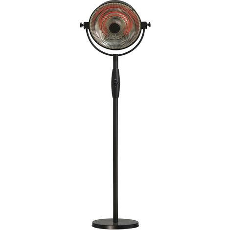 parasol chauffant électrique 2100w noir - 852.2095 - favex
