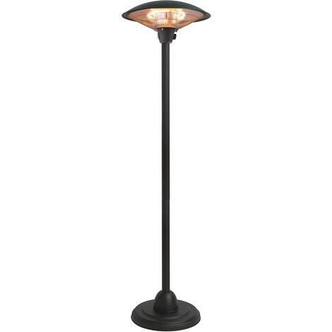 parasol chauffant électrique 2100w noir - 852.2096 - favex