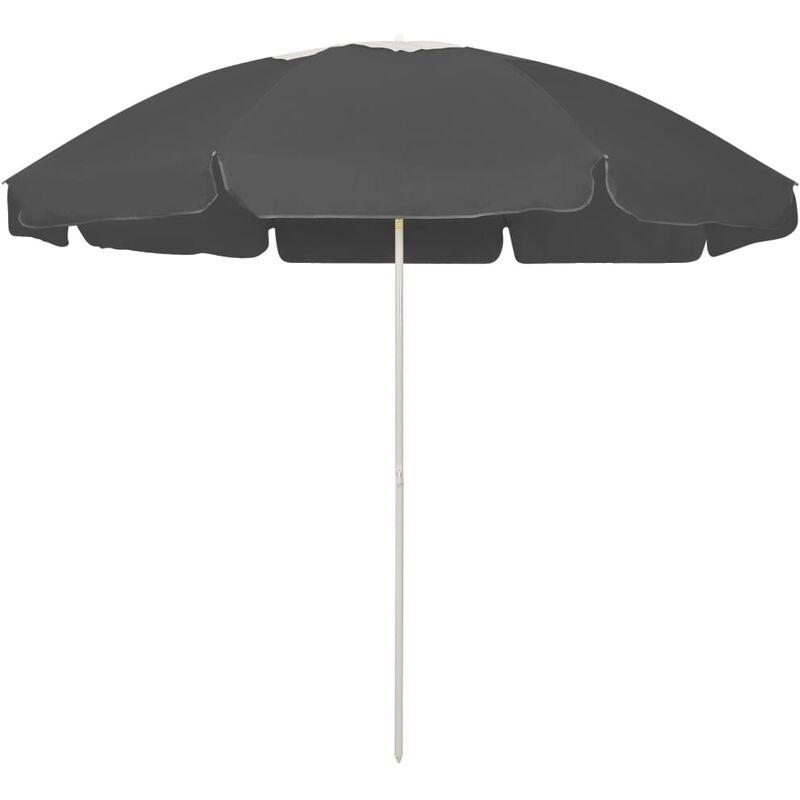 Parasol de plage Anthracite 240 cm