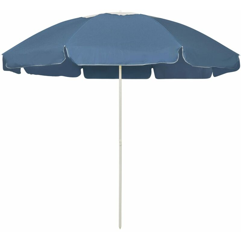 Parasol de plage Bleu 240 cm