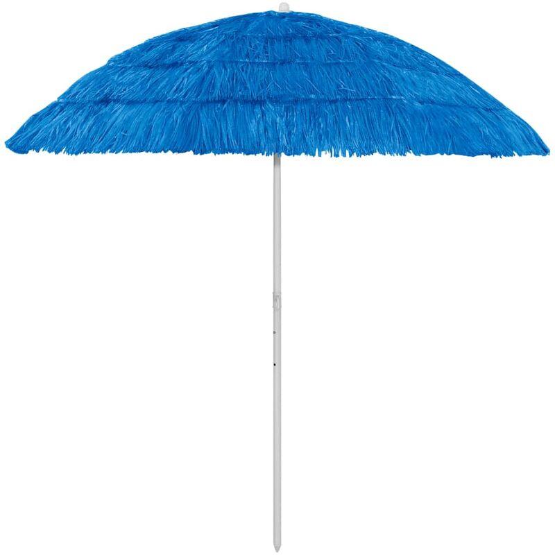 Parasol de plage Bleu 240 cm7175-A