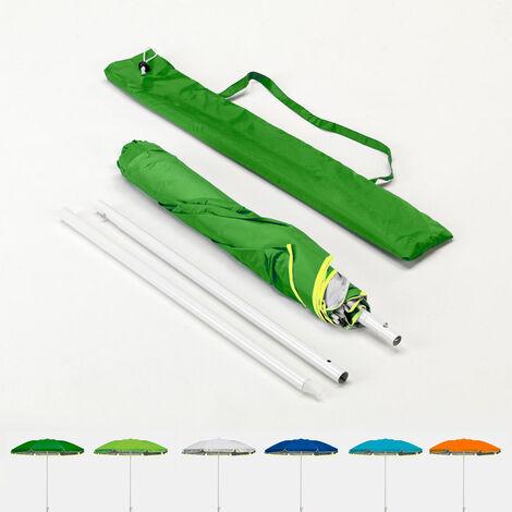 Parasol De Plage Pliable Portable Leger Voyage Moto 180 Cm Pocket