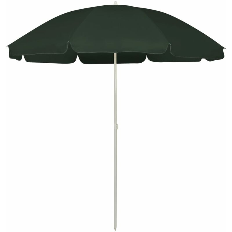 Parasol de plage Vert 240 cm7183-A