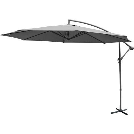 """main image of """"Parasol déporté rond 350cm - Hardelot"""""""