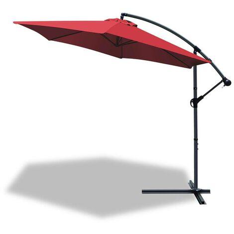 Parasol deporte hexagonale 3M avec housse de protection