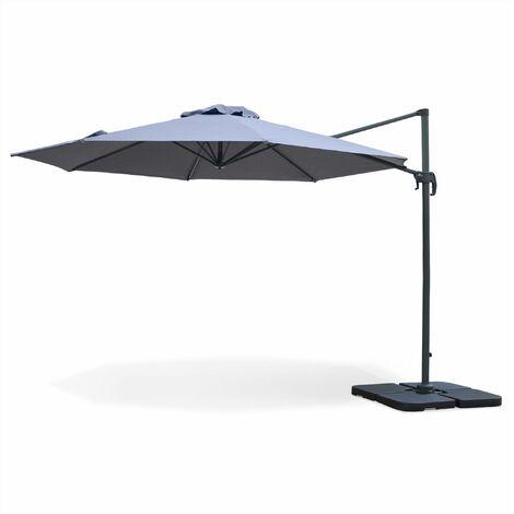 Parasol déporté rond 350cm - Biscarosse