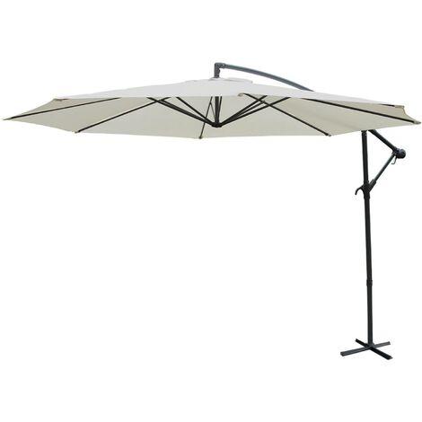 Parasol déporté rond 350cm - Hardelot