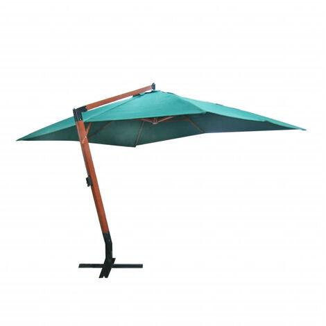 Parasol deporte vert 300 x 400 cm
