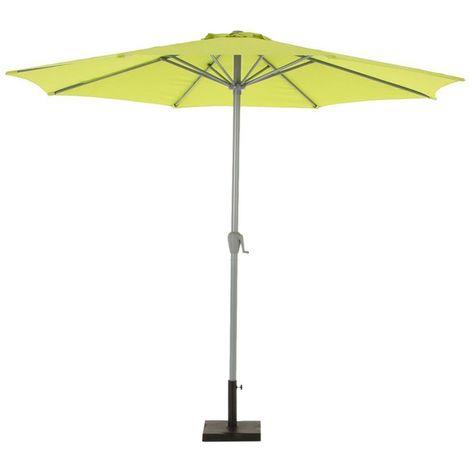 Parasol droit Fidji - 3 m. - Pistache