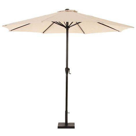 Parasol droit Fidji - 3 m. - Sable