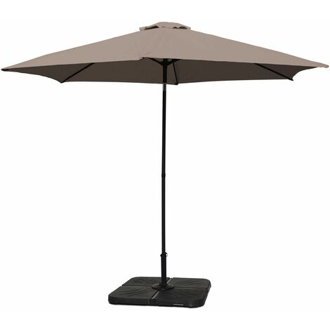 Parasol droit inclinable 3 m