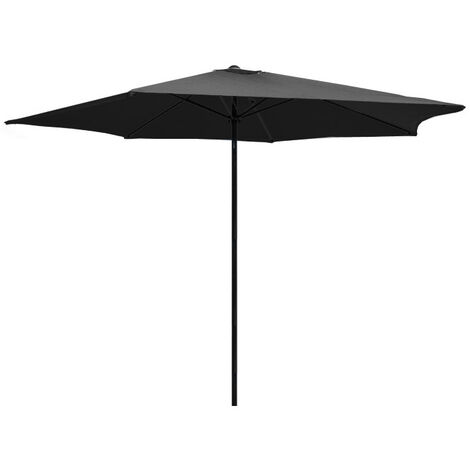 Parasol en aluminium 350 cm Kalomo