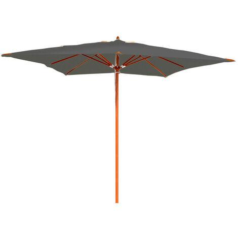 Parasol en bois 300x300 cm Karimum