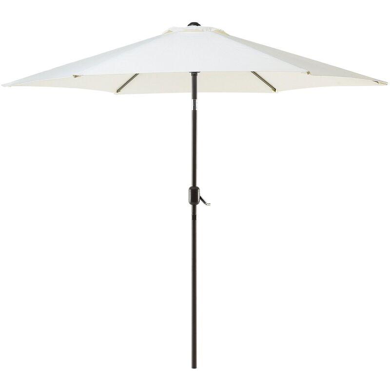 Parasol de jardin beige clair Ø 270 cm VARESE