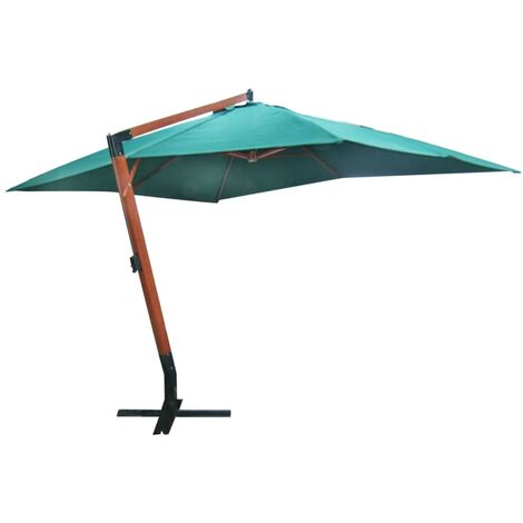 Parasol flottant Melia 300 x 400 cm Vert