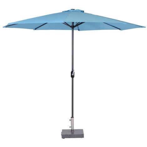 Parasol Lotus - Ø 300 - bleu clair - Garden Impressions
