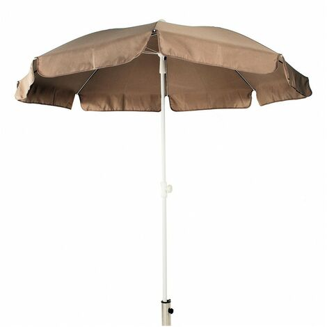 Parasol Luxe Toile Polyester Taupe