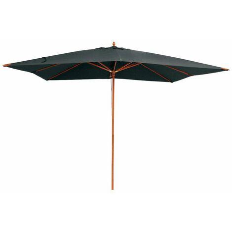 "main image of ""Parasol en bois 300x400 cm Rangoon"""