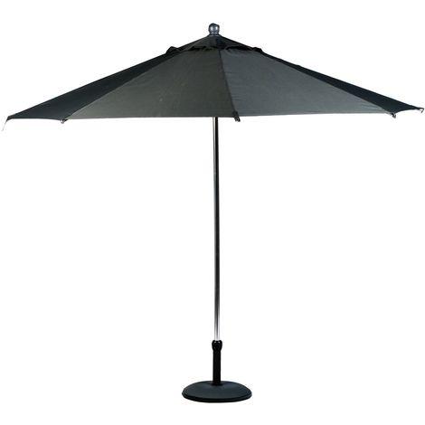 Parasol Nouméa - Diam. 3 m - Ardoise - Gris foncé