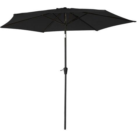 Parasol redondo recto 2m70