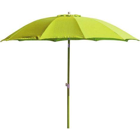 Parasol rond inclinable aluminium 2,70m Lemon - Lemon