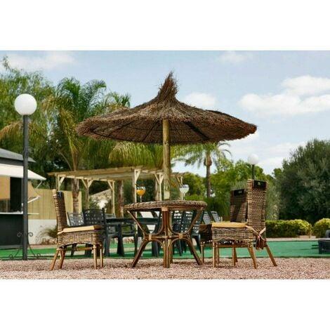 """main image of """"Parasol Sombrilla De Brezo 2.20 Mts Jardin Para Playa Y Piscina"""""""