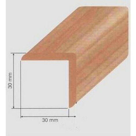 Paraspigolo Coprispigolo pvc espanso 30 x 30 x 3000 mm VARI COLORI DISPONIBILI