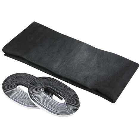 Paravent 130 x 150 cm, noir, 2 piècesWestfalia