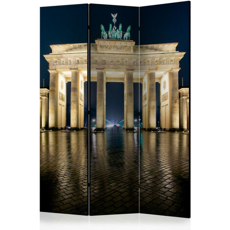 Paravent 3 volets - Berlin at Night [Room Dividers] 135x172